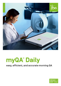 IBA Dosimetry Radiation Product myQA Daily Brochure