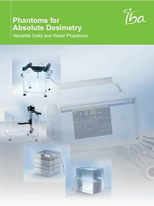 IBA Dosimetry Radiation Product Absolute