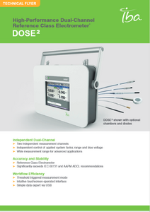 IBA Dosimetry Radiation Product Dose 2