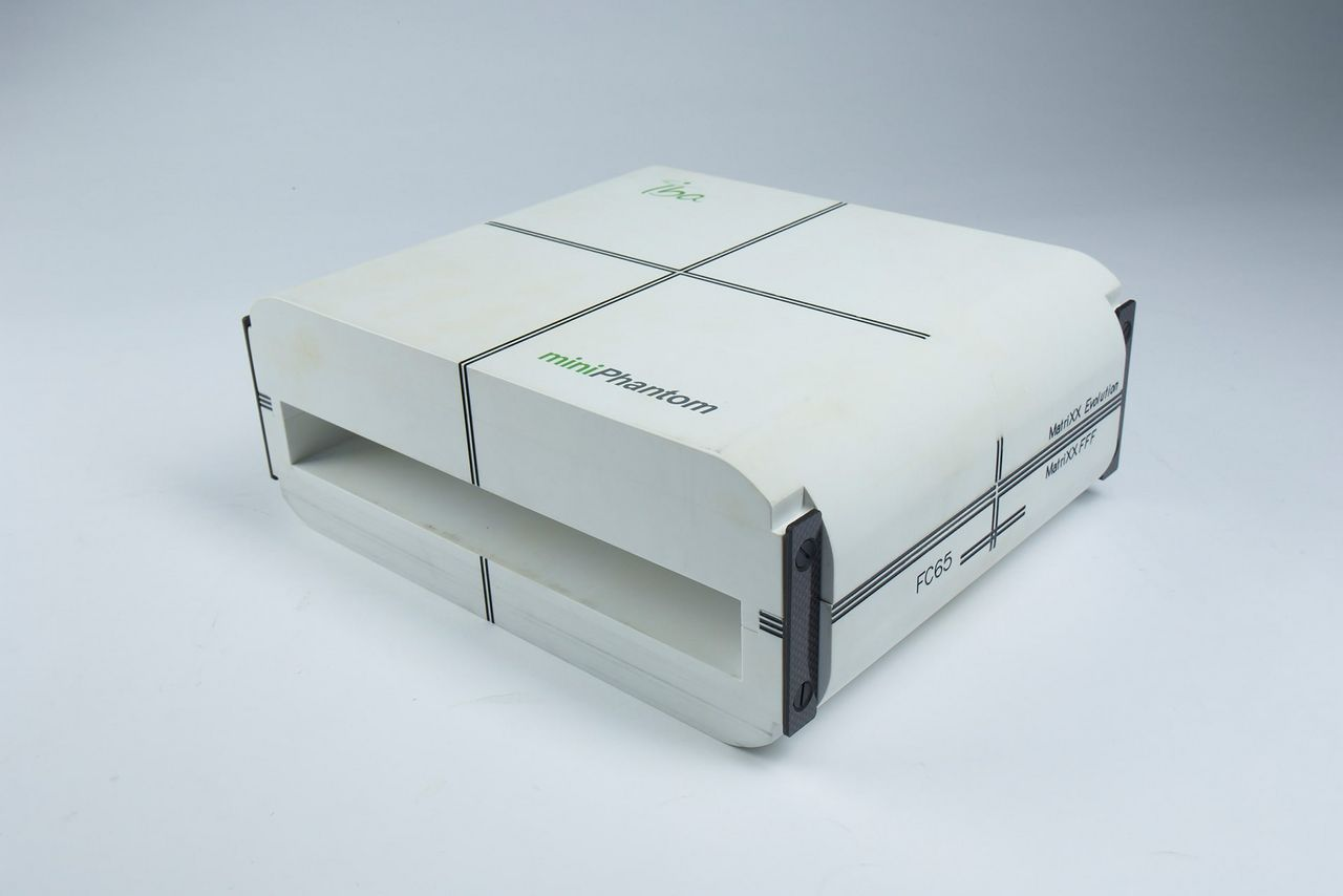 IBA Dosimetry Miniphantom without inlay Product top
