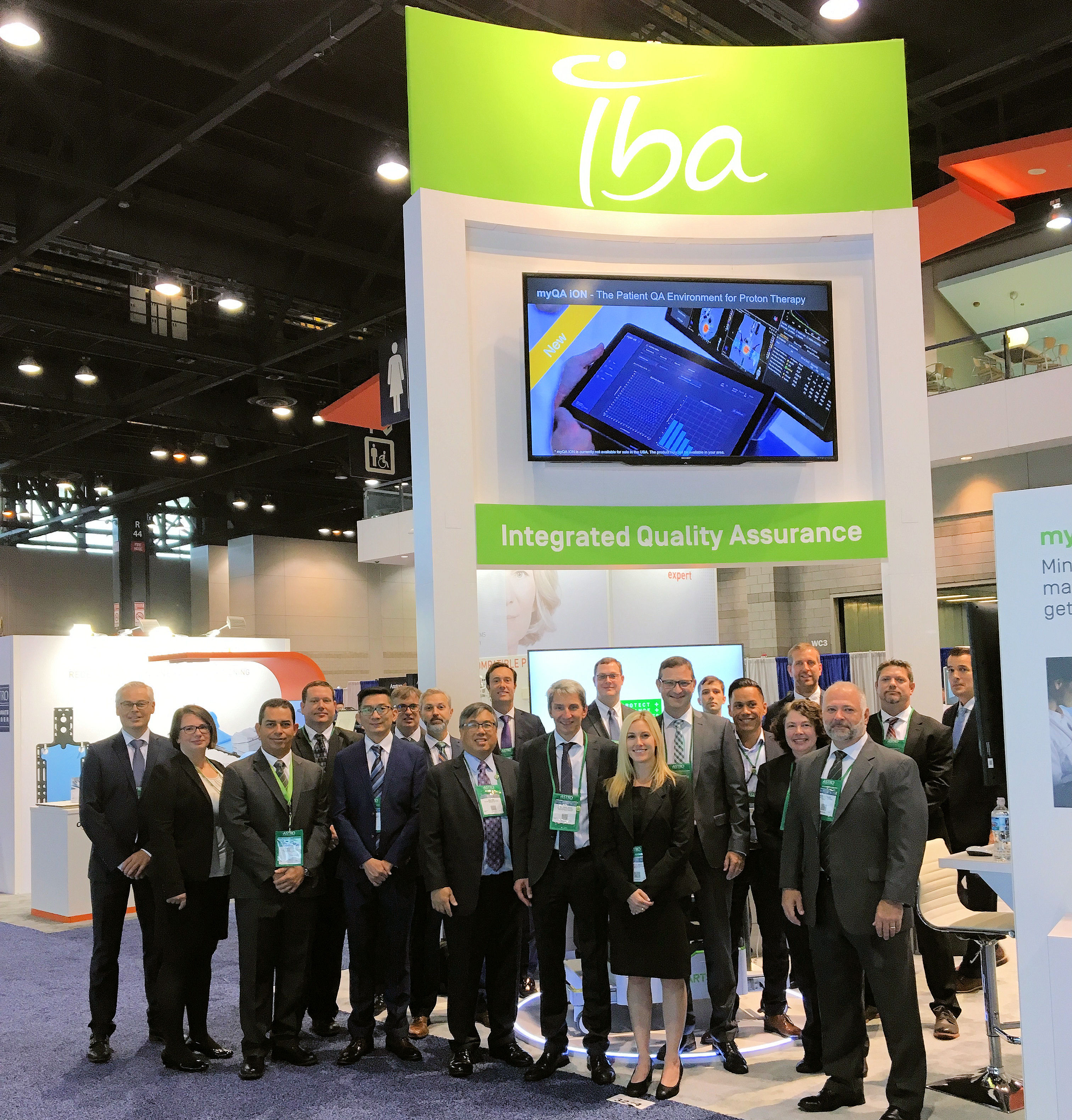 IBA Dosimetry ASTRO 2021 McCormick Place West USA