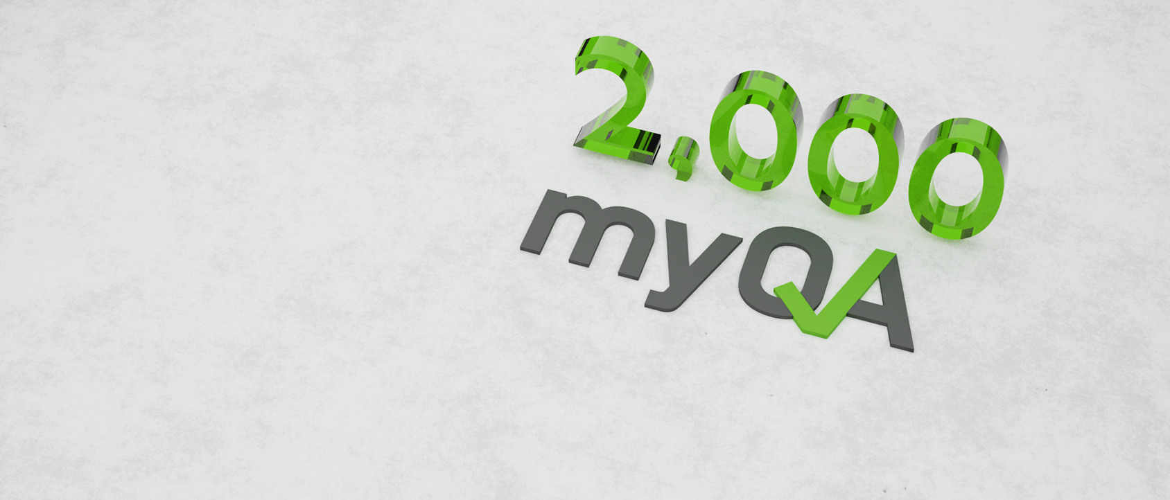 The Most Trusted QA Platform > 2,000 sites have chosen myQA!