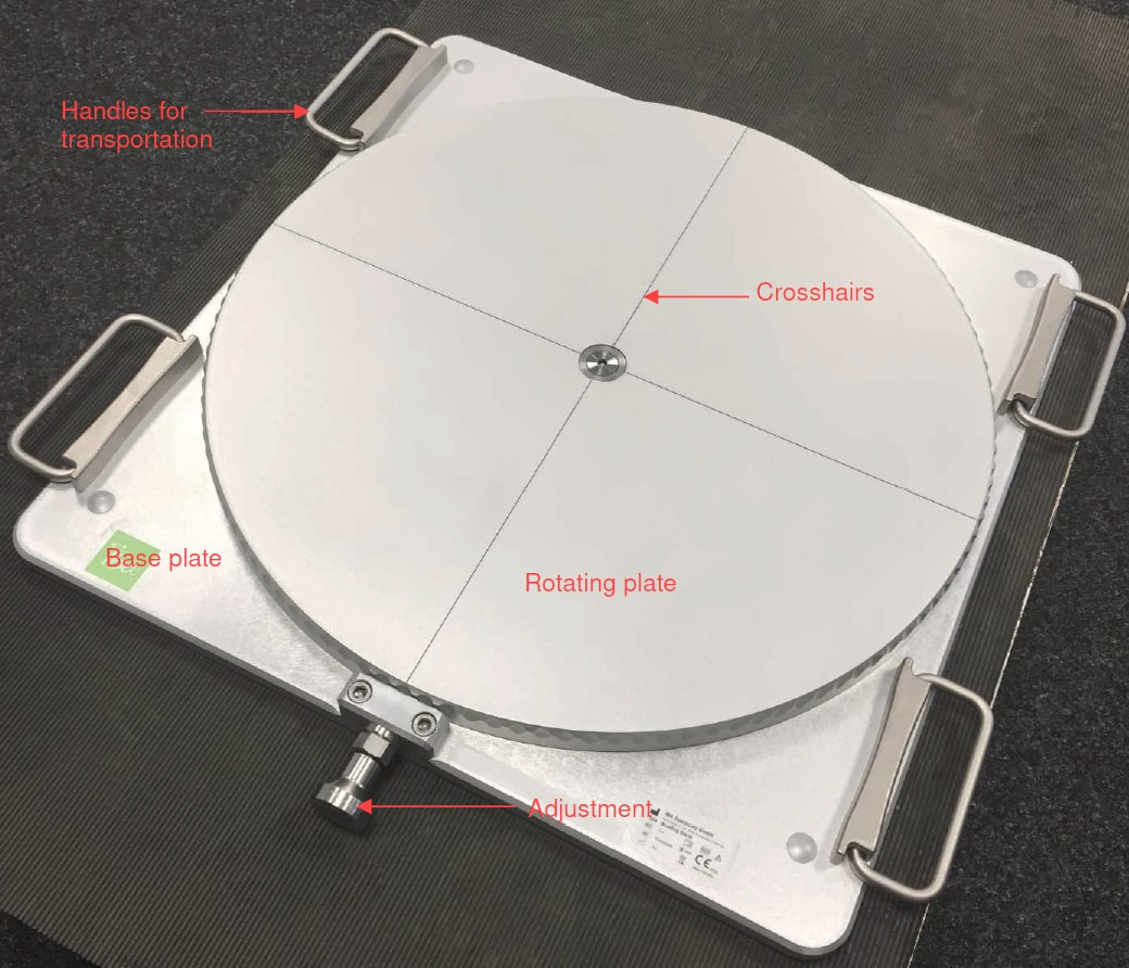 IBA Dosimetry Radiation Product Halo Package Rotation Table