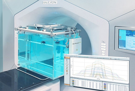 IBA Dosimetry Radiation Product myQA Halo Scene & Software